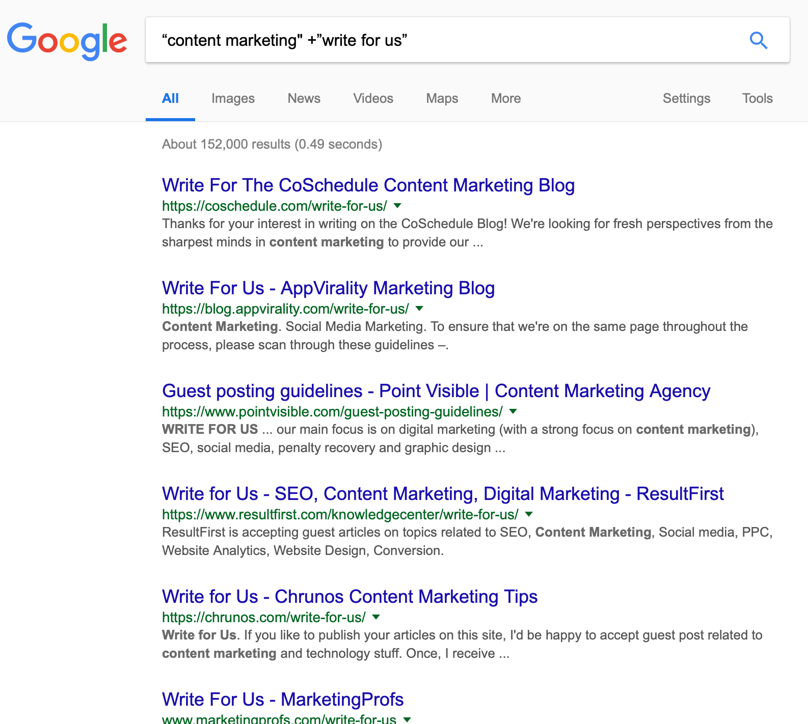 How to leverage Google's Search operators to find guest post