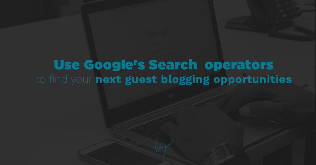 Leverage Google Search Operators