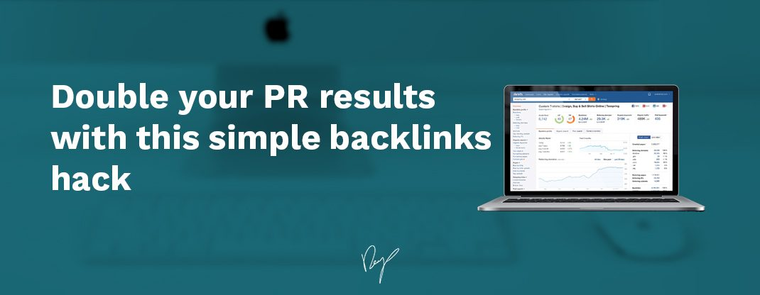 Double Your Pr Results With This Simple Backlinks Hack
